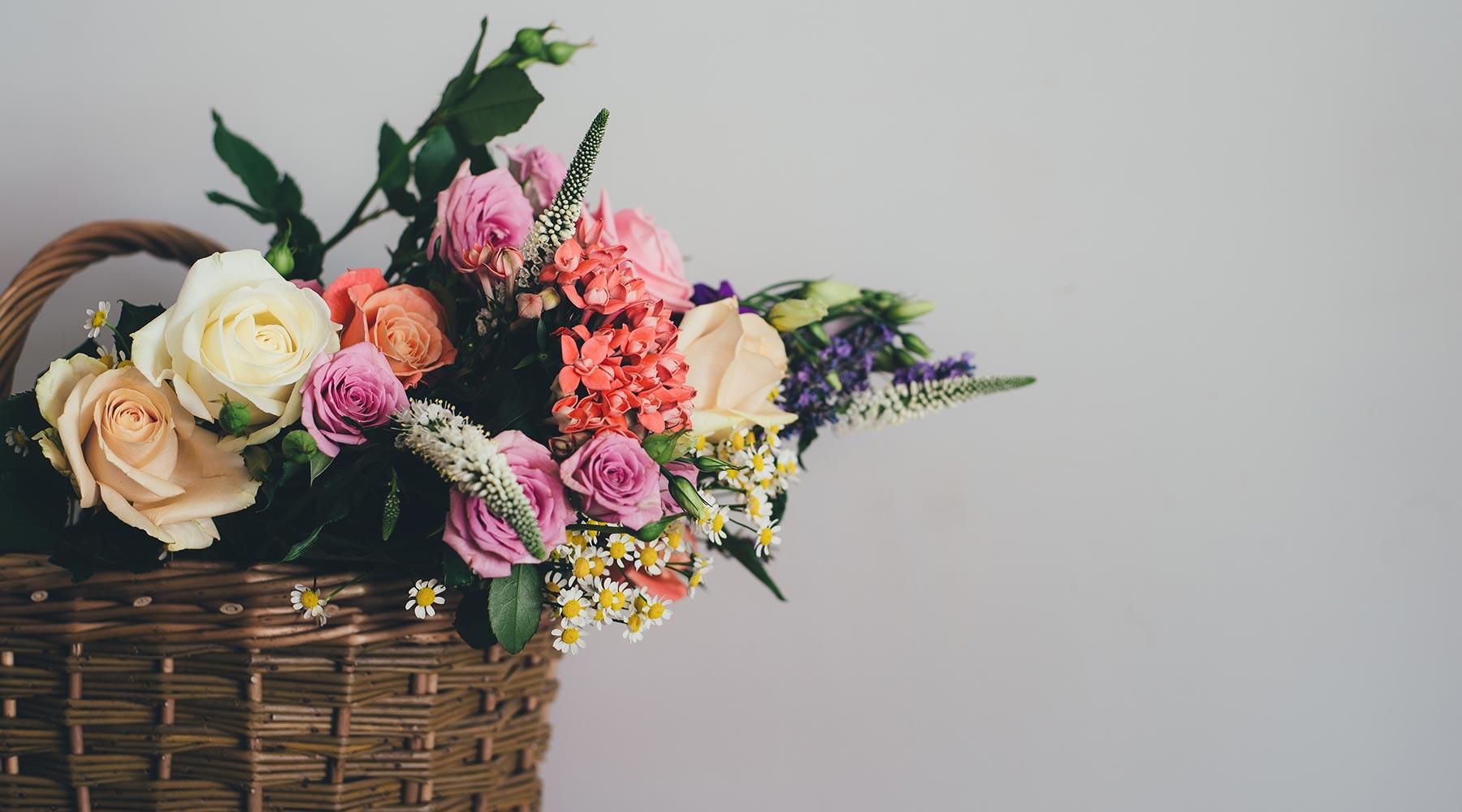 Städtisches Bestattungswesen Leipzig – Blumenkorb