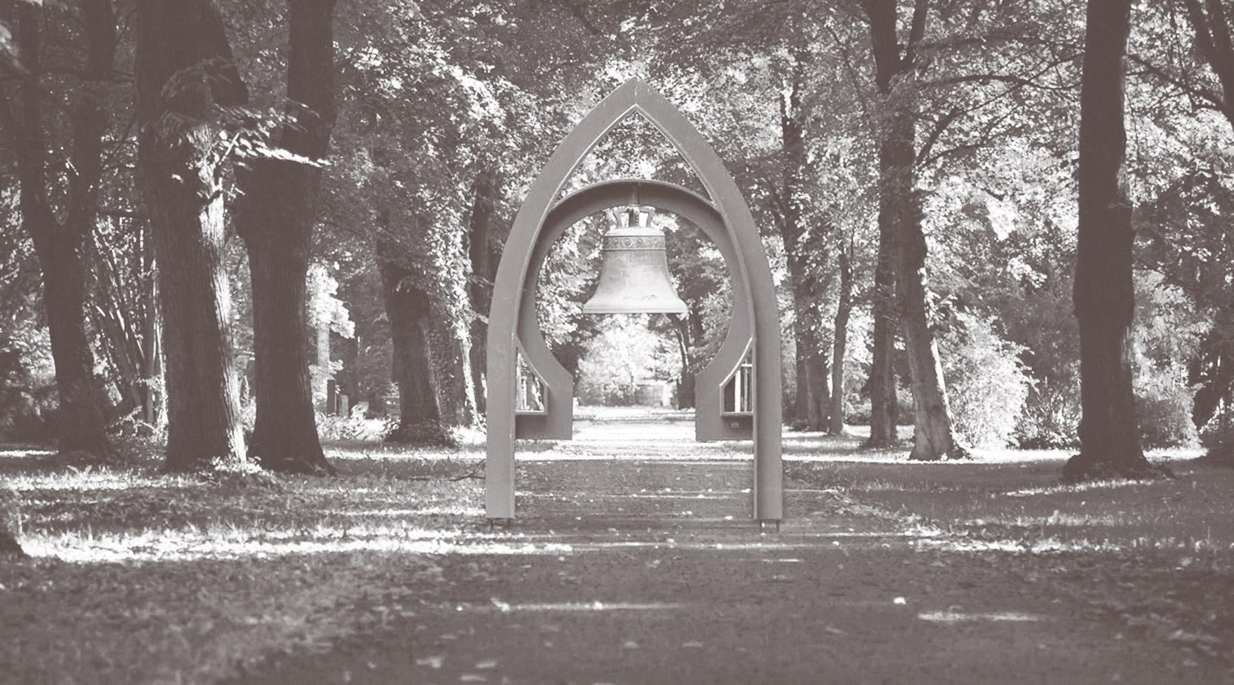 Glocke des Städtischen Bestattungswesen SBWL Südfriedhof