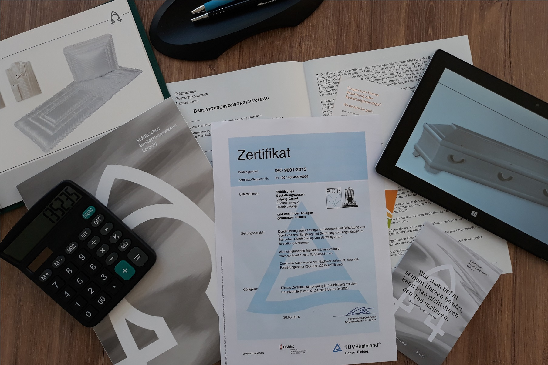 SBW Leipzig - BG - Zertifizierung - Markenzeichen