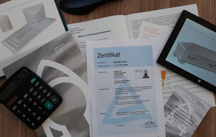 SBW Leipzig – Markenzeichen – Zertifikat – Web